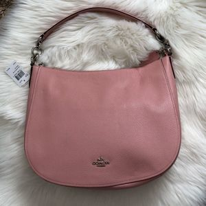 Coach Light Pink Chelsea 32 Hobo Shoulder Bag NWTs